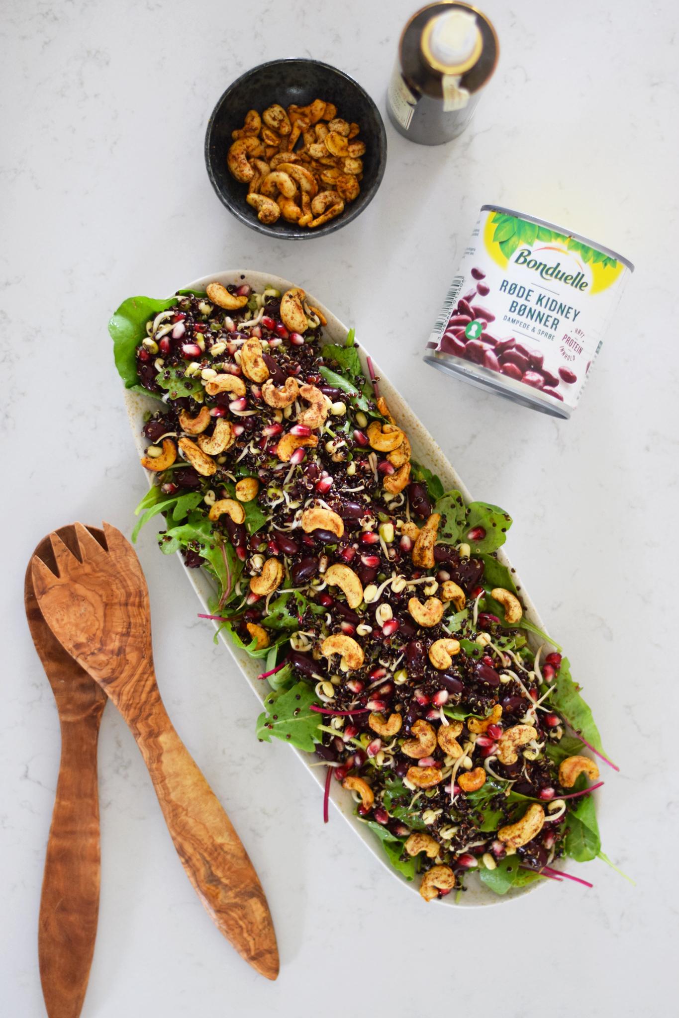 19a23368f69c Sprød salat med quinoa